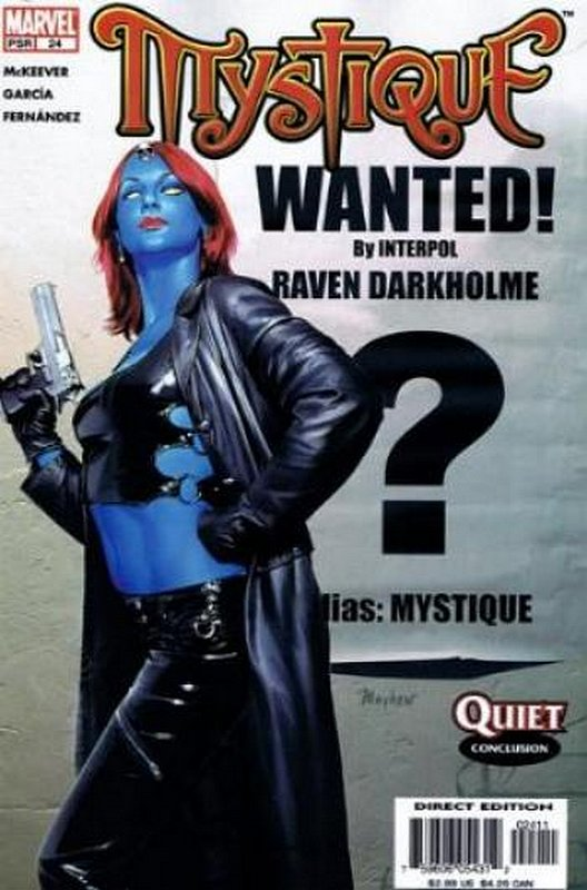 Cover of Mystique (Vol 1) #24. One of 250,000 Vintage American Comics on sale from Krypton!