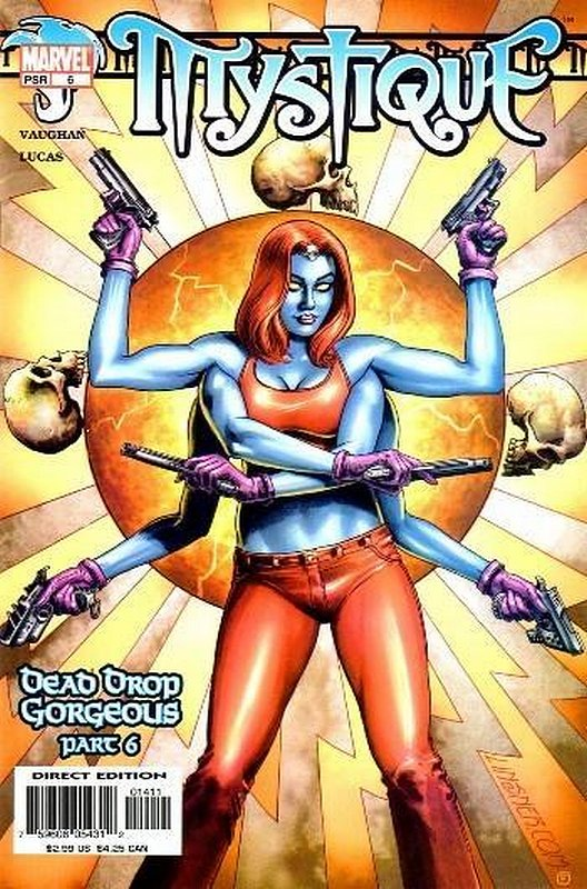 Cover of Mystique (Vol 1) #6. One of 250,000 Vintage American Comics on sale from Krypton!