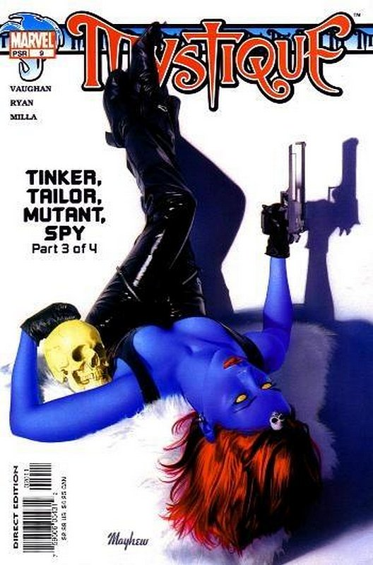Cover of Mystique (Vol 1) #9. One of 250,000 Vintage American Comics on sale from Krypton!