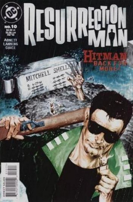 Cover of Resurrection Man (Vol 1) #10. One of 250,000 Vintage American Comics on sale from Krypton!