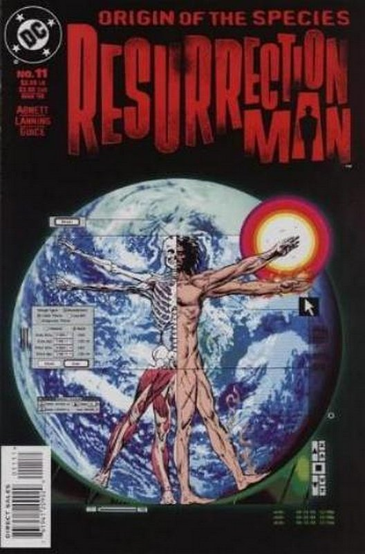 Cover of Resurrection Man (Vol 1) #11. One of 250,000 Vintage American Comics on sale from Krypton!