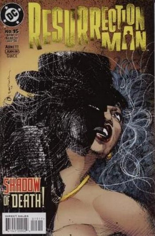 Cover of Resurrection Man (Vol 1) #15. One of 250,000 Vintage American Comics on sale from Krypton!