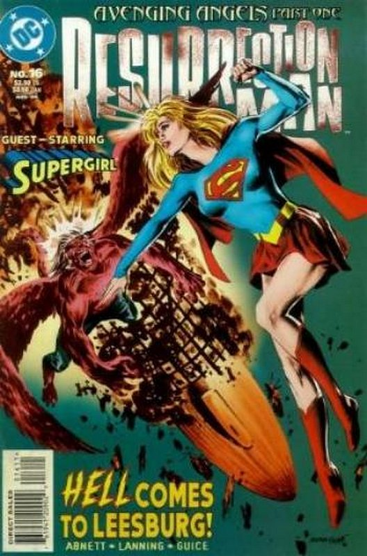 Cover of Resurrection Man (Vol 1) #16. One of 250,000 Vintage American Comics on sale from Krypton!