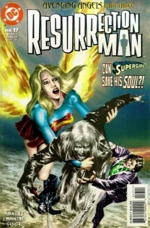 Cover of Resurrection Man (Vol 1) #17. One of 250,000 Vintage American Comics on sale from Krypton!