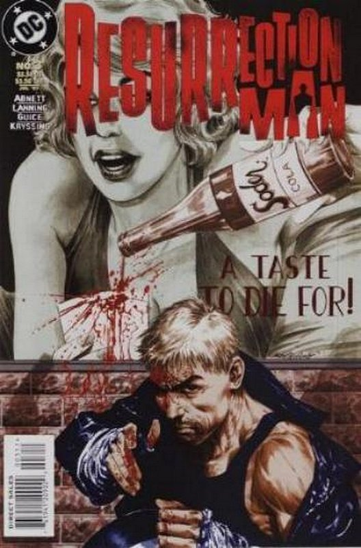 Cover of Resurrection Man (Vol 1) #3. One of 250,000 Vintage American Comics on sale from Krypton!