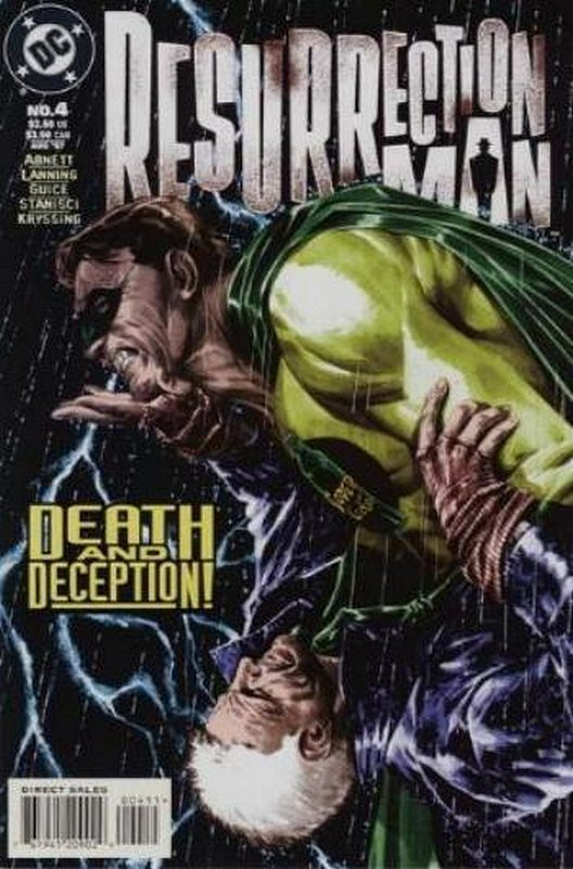 Cover of Resurrection Man (Vol 1) #4. One of 250,000 Vintage American Comics on sale from Krypton!