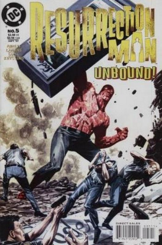Cover of Resurrection Man (Vol 1) #5. One of 250,000 Vintage American Comics on sale from Krypton!