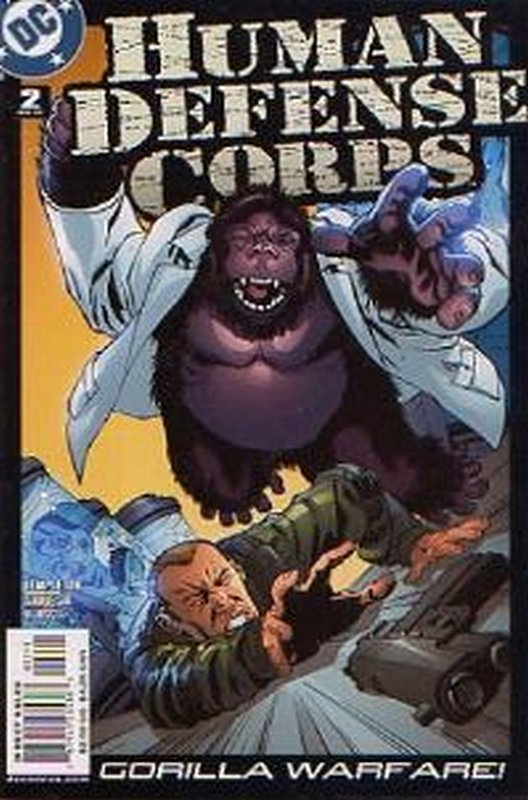 Cover of Human Defense Corps (2003 Ltd) #2. One of 250,000 Vintage American Comics on sale from Krypton!