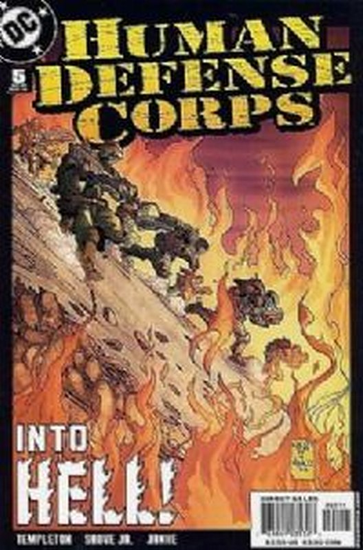 Cover of Human Defense Corps (2003 Ltd) #5. One of 250,000 Vintage American Comics on sale from Krypton!