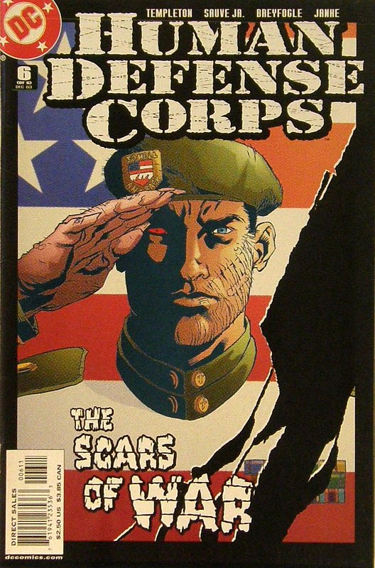 Cover of Human Defense Corps (2003 Ltd) #6. One of 250,000 Vintage American Comics on sale from Krypton!