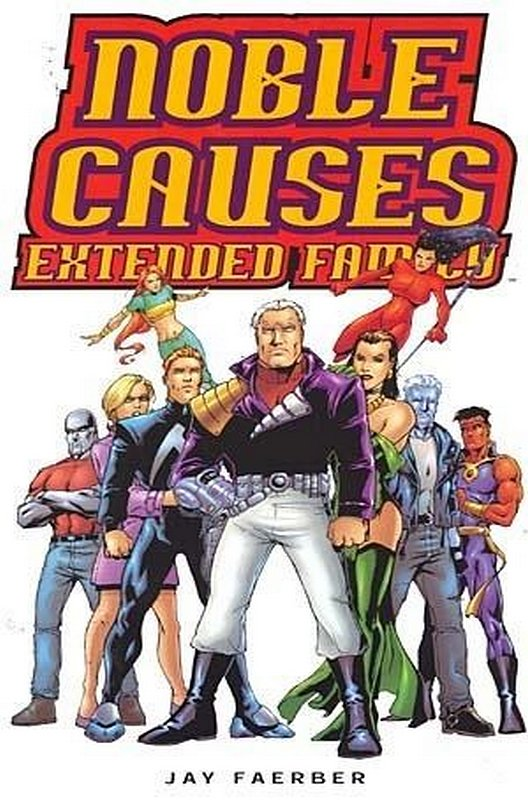 Cover of Noble Causes: Extended Family (2003 Ltd) #1. One of 250,000 Vintage American Comics on sale from Krypton!