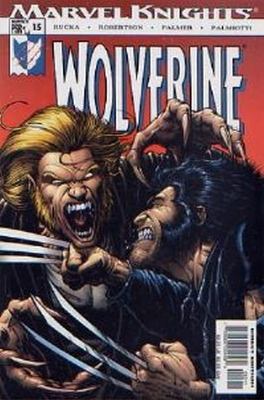 Cover of Wolverine (Vol 2) #15. One of 250,000 Vintage American Comics on sale from Krypton!