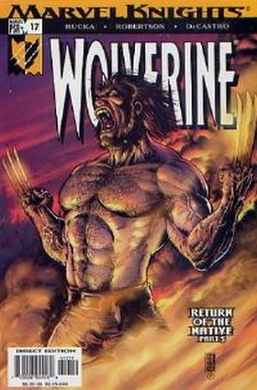 Cover of Wolverine (Vol 2) #17. One of 250,000 Vintage American Comics on sale from Krypton!