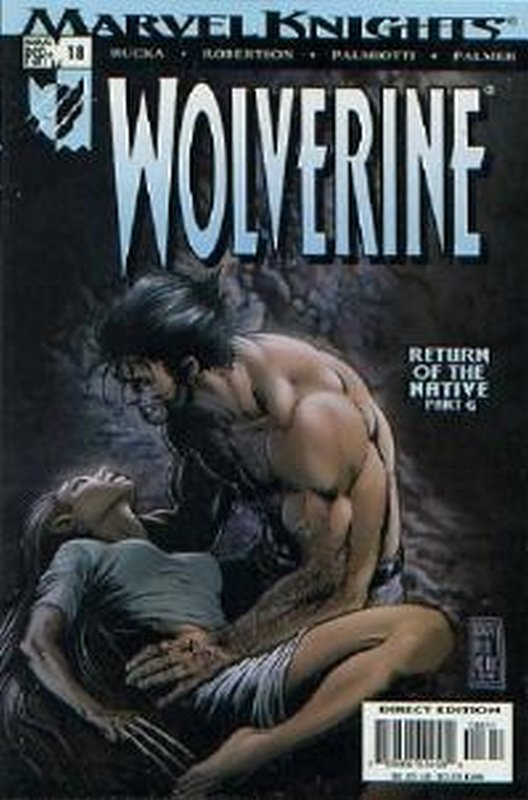 Cover of Wolverine (Vol 2) #18. One of 250,000 Vintage American Comics on sale from Krypton!