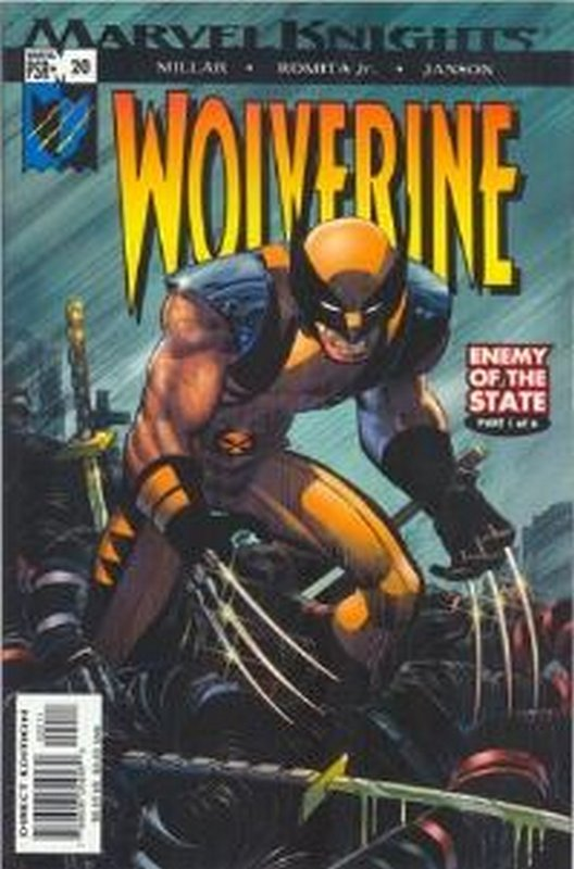 Cover of Wolverine (Vol 2) #20. One of 250,000 Vintage American Comics on sale from Krypton!