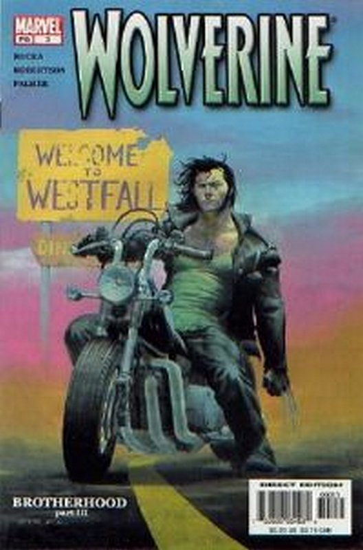 Cover of Wolverine (Vol 2) #3. One of 250,000 Vintage American Comics on sale from Krypton!