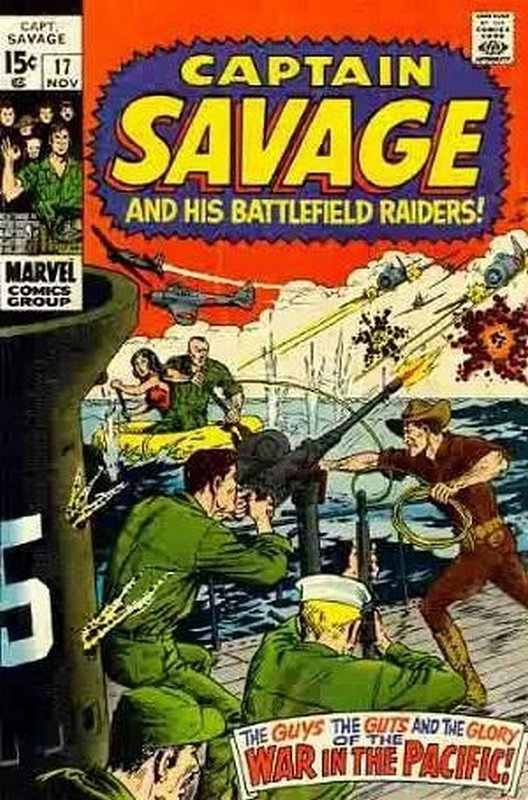 Cover of Captain Savage (Vol 1) #17. One of 250,000 Vintage American Comics on sale from Krypton!