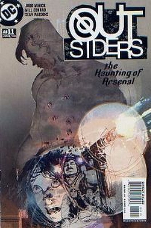 Cover of Outsiders (Vol 3) #11. One of 250,000 Vintage American Comics on sale from Krypton!