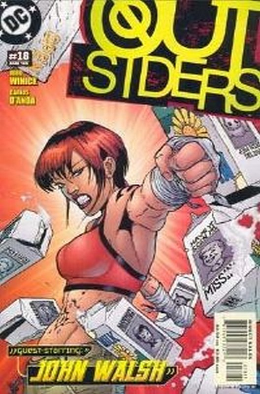 Cover of Outsiders (Vol 3) #18. One of 250,000 Vintage American Comics on sale from Krypton!