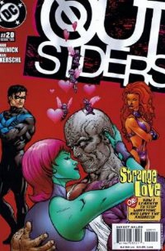 Cover of Outsiders (Vol 3) #20. One of 250,000 Vintage American Comics on sale from Krypton!