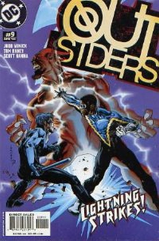 Cover of Outsiders (Vol 3) #9. One of 250,000 Vintage American Comics on sale from Krypton!