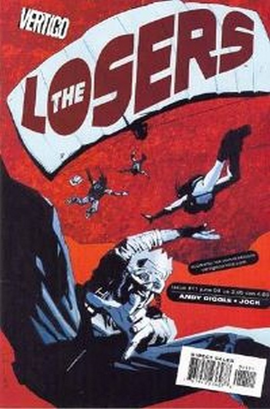 Cover of Losers (Vol 1) #11. One of 250,000 Vintage American Comics on sale from Krypton!