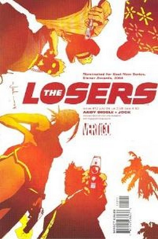 Cover of Losers (Vol 1) #12. One of 250,000 Vintage American Comics on sale from Krypton!