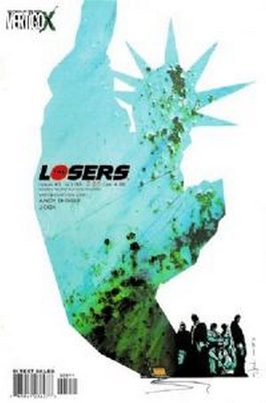Cover of Losers (Vol 1) #3. One of 250,000 Vintage American Comics on sale from Krypton!
