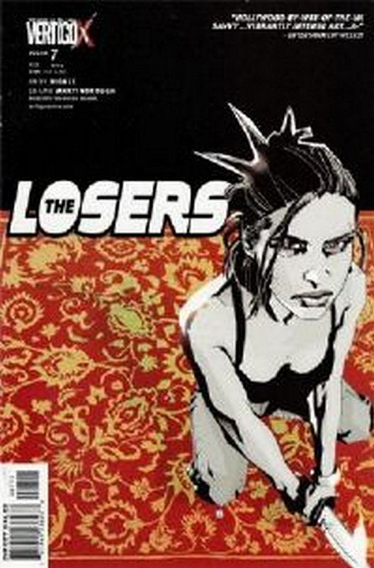 Cover of Losers (Vol 1) #7. One of 250,000 Vintage American Comics on sale from Krypton!