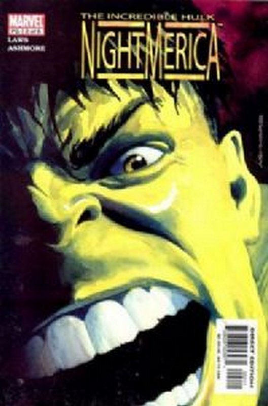 Cover of Hulk: Nightmerica (2003 Ltd) #2. One of 250,000 Vintage American Comics on sale from Krypton!