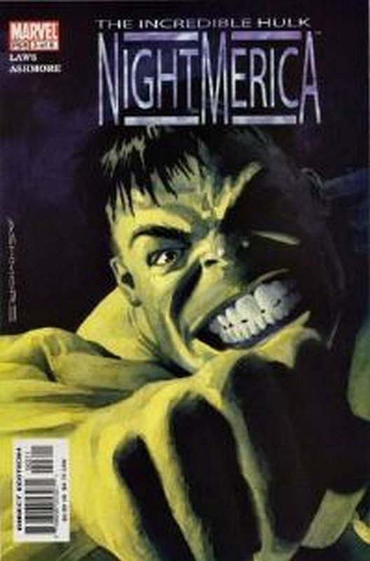 Cover of Hulk: Nightmerica (2003 Ltd) #3. One of 250,000 Vintage American Comics on sale from Krypton!