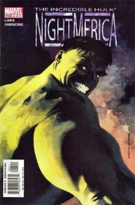 Cover of Hulk: Nightmerica (2003 Ltd) #4. One of 250,000 Vintage American Comics on sale from Krypton!