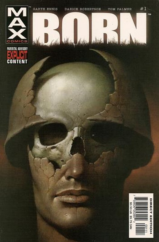 Cover of Punisher: Born (2003 Ltd) #1. One of 250,000 Vintage American Comics on sale from Krypton!