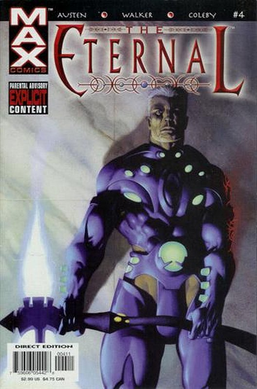 Cover of Eternal (2003 Ltd) The #4. One of 250,000 Vintage American Comics on sale from Krypton!