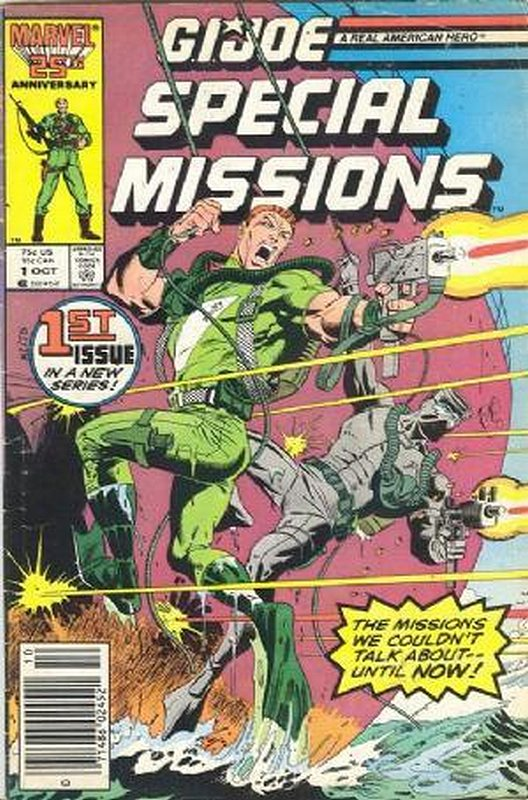Cover of GI Joe: Special Missions #1. One of 250,000 Vintage American Comics on sale from Krypton!