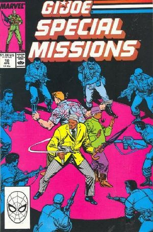 Cover of GI Joe: Special Missions #10. One of 250,000 Vintage American Comics on sale from Krypton!