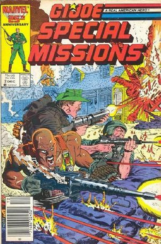 Cover of GI Joe: Special Missions #2. One of 250,000 Vintage American Comics on sale from Krypton!