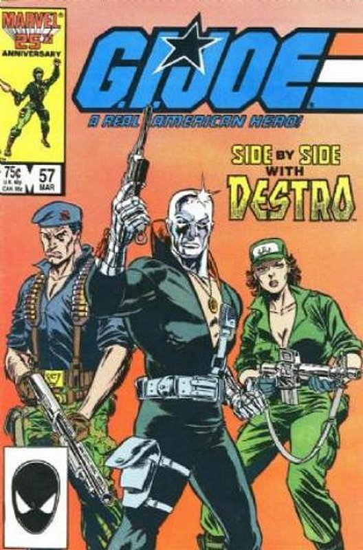 Cover of GI Joe: A Real American Hero #57. One of 250,000 Vintage American Comics on sale from Krypton!
