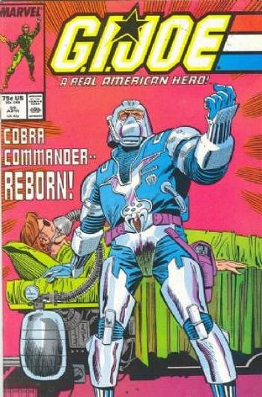 Cover of GI Joe: A Real American Hero #58. One of 250,000 Vintage American Comics on sale from Krypton!