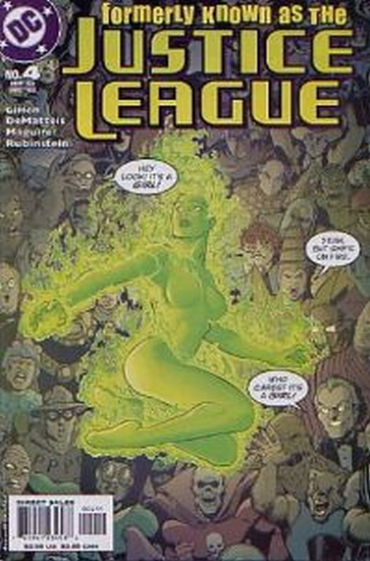 Cover of Formerly Known as The Justice League (2003 Ltd) #4. One of 250,000 Vintage American Comics on sale from Krypton!