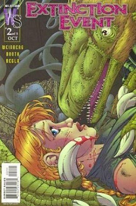 Cover of Extinction Event (2003 Ltd) #2. One of 250,000 Vintage American Comics on sale from Krypton!