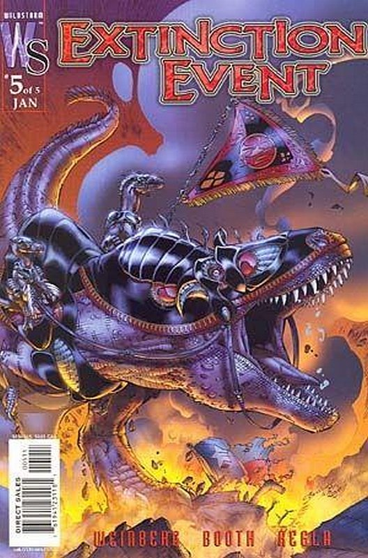 Cover of Extinction Event (2003 Ltd) #5. One of 250,000 Vintage American Comics on sale from Krypton!