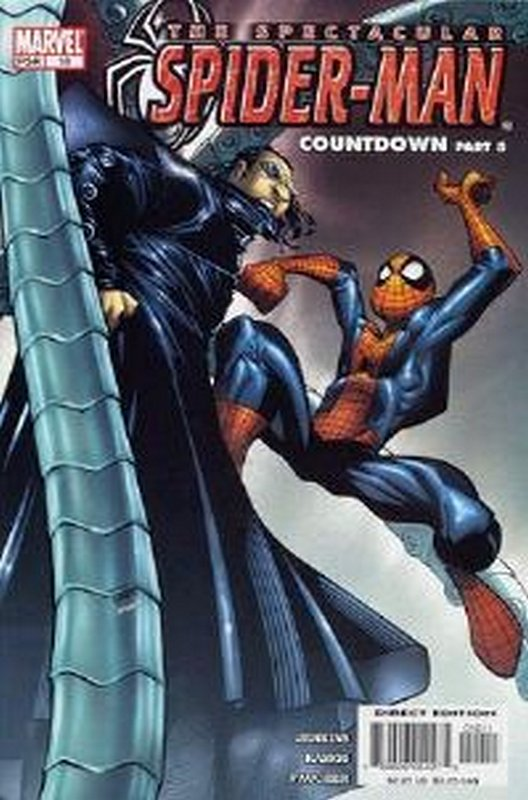 Cover of Spectacular Spider-Man (Vol 2) #10. One of 250,000 Vintage American Comics on sale from Krypton!
