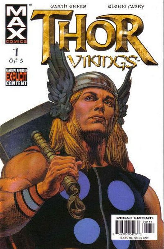 Cover of Thor: Vikings (2003 Ltd) #1. One of 250,000 Vintage American Comics on sale from Krypton!