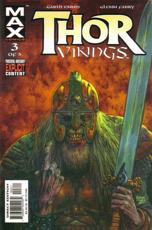 Cover of Thor: Vikings (2003 Ltd) #3. One of 250,000 Vintage American Comics on sale from Krypton!