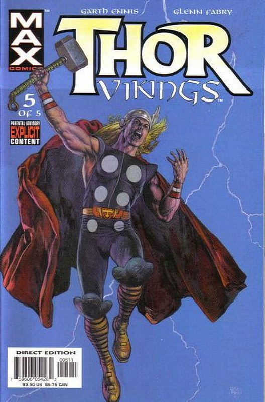 Cover of Thor: Vikings (2003 Ltd) #5. One of 250,000 Vintage American Comics on sale from Krypton!