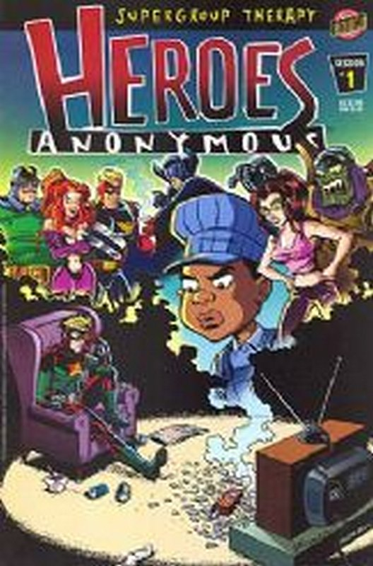 Cover of Heroes Anonymous (2003 Ltd) #1. One of 250,000 Vintage American Comics on sale from Krypton!
