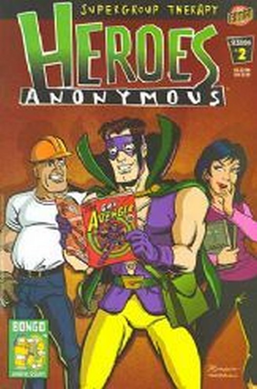Cover of Heroes Anonymous (2003 Ltd) #2. One of 250,000 Vintage American Comics on sale from Krypton!