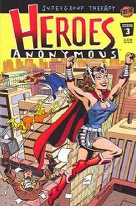 Cover of Heroes Anonymous (2003 Ltd) #3. One of 250,000 Vintage American Comics on sale from Krypton!