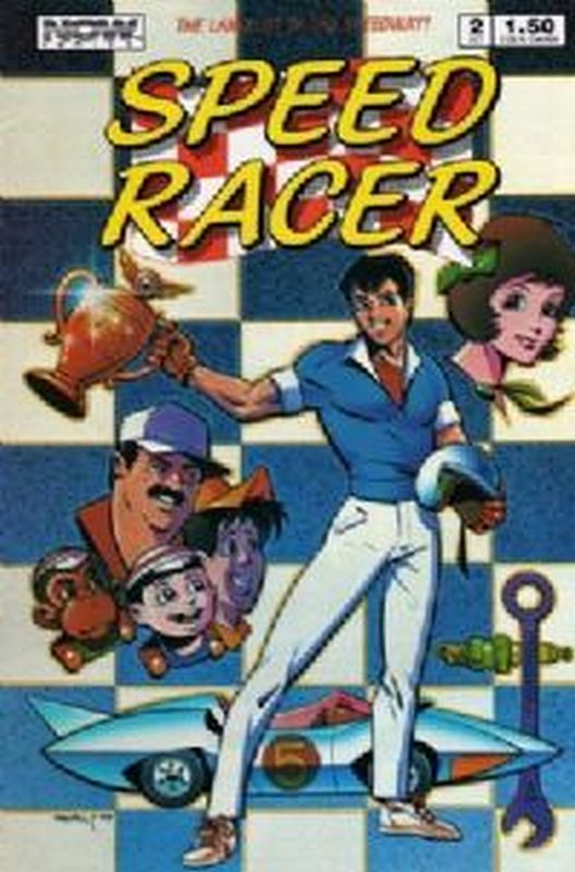 Cover of Speed Racer (Vol 1) #2. One of 250,000 Vintage American Comics on sale from Krypton!